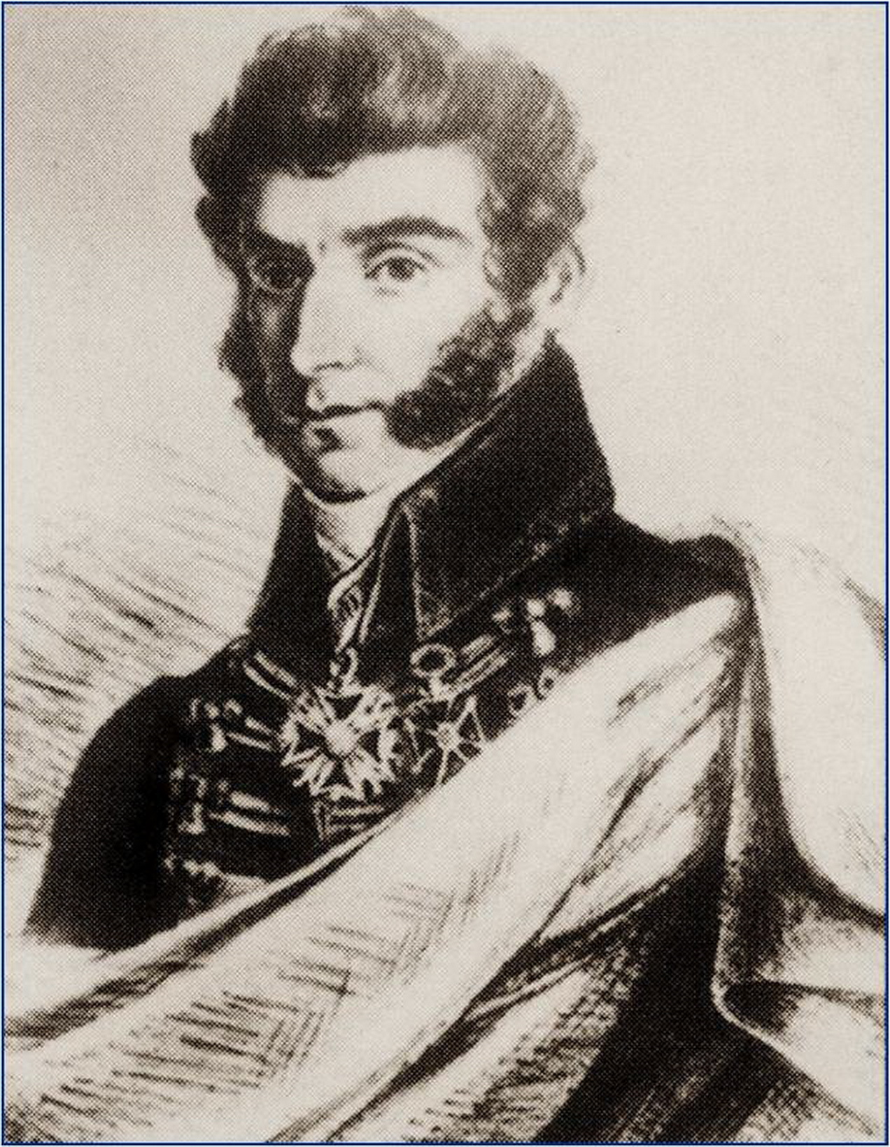 Karol Maciej Kaczkowski (17971867). Portret z czasów Powstania Listopadowego.